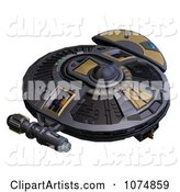 3d Ufo Clipart by Ralf61