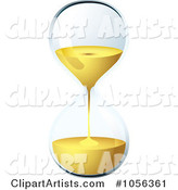 Egg Timer Hourglass Running out of Time