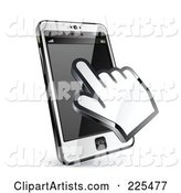 Hand Cursor Using a Touch Cell Phone