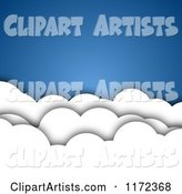 3d Vector Clouds Clipart by Vectorace