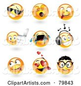 3d Vector Emoticon Clipart by TA Images