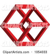 3d Vector Hexagon Clipart by Vectorace