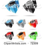 3d Vector Icons Clipart by Cidepix