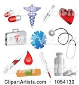 3d Vector Medical Clipart by Vectorace