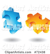 3d Vector Puzzle Clipart by Cidepix