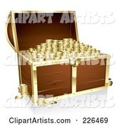 3d Vector Treasure Chest Clipart by TA Images
