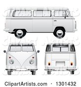 3d Vector Van Clipart by Vectorace