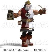 3d Viking Clipart by Ralf61