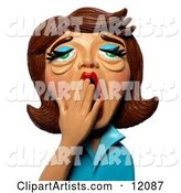 3d Woman Clipart by Amy Vangsgard