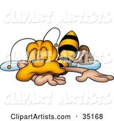 Bee Clipart by Dero