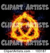 Blazing Symbol Clipart by Michael Schmeling