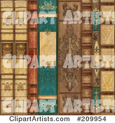 Books Clipart by Gina Jane
