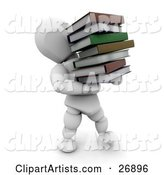 Books Clipart by KJ Pargeter