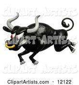Bull Clipart by Amy Vangsgard