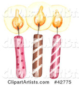 Candles Clipart by Gina Jane