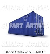 Cargo Container Clipart by Franck Boston