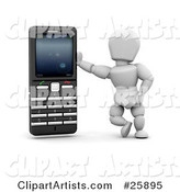 Cell Phone Clipart by KJ Pargeter
