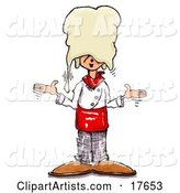 Chef Clipart by Spanky Art
