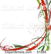 Christmas Background Clipart by Dero