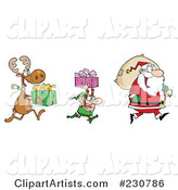 Christmas Clipart by Hit Toon