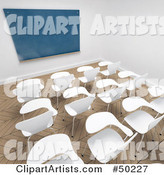 Classroom Clipart by Franck Boston