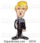 Donald Trump Standing and Pointing, Yelling and Firing People