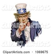 Intimidating Uncle Sam Pointing out