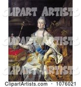 Queen Catherine II of Russia with a Wand, Catherine the Great