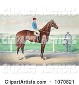 Rider, James Roe, on the Back of a Horse, Harry Bassett