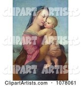Woman Holding a Baby, Tempi Madonna by Raphael