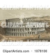 Colosseum Clipart by JVPD