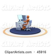Computer Clipart by Chrisroll
