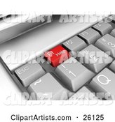 Computer Keyboard Clipart by KJ Pargeter