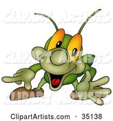 Cricket Clipart by Dero