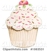 Cupcake Clipart by Gina Jane