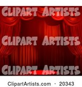 Curtains Clipart by Tonis Pan