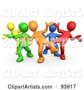 Dancing Clipart by 3poD
