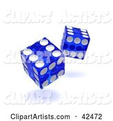 Dice Clipart by Stockillustrations