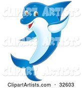 Dolphin Clipart by Alex Bannykh