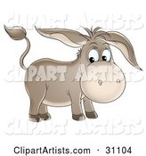 Donkey Clipart by Alex Bannykh