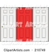 Doors Clipart by Arena Creative