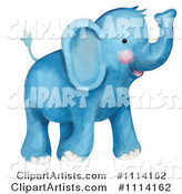 Elephant Clipart by Gina Jane