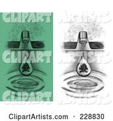 Faucet Clipart by Inkgraphics