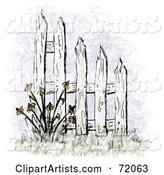 Fence Clipart by Inkgraphics