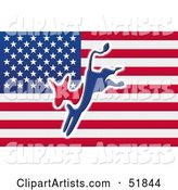 Flag Clipart by Stockillustrations