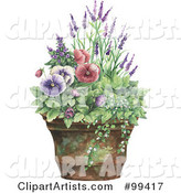 Flowers Clipart by Gina Jane