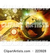 Globe Clipart by Chrisroll