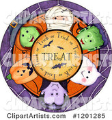 Halloween Clipart by Gina Jane