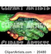 Handshake Clipart by Tonis Pan