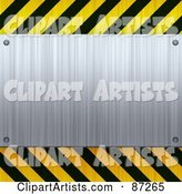 Hazard Stripes Clipart by Arena Creative